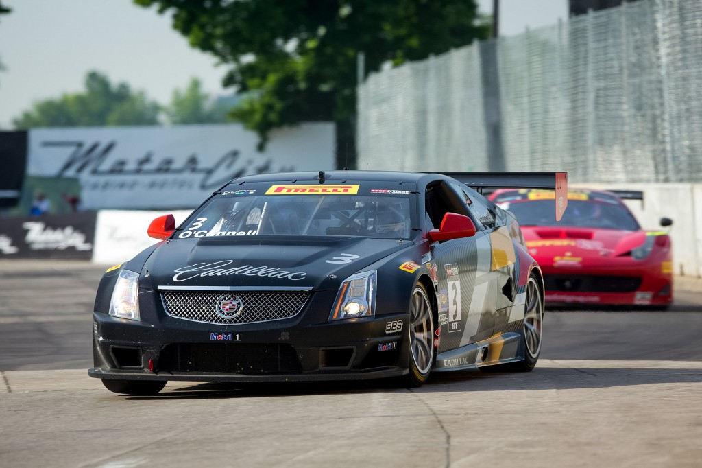 cadillac racing 39 s o 39 connell sweeps belle isle motrface. Black Bedroom Furniture Sets. Home Design Ideas