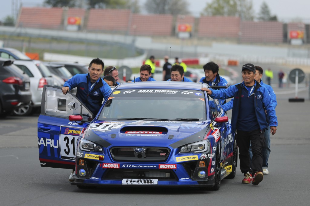 subaru to participate in the n rburgring 24 hour race. Black Bedroom Furniture Sets. Home Design Ideas